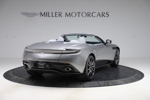 New 2020 Aston Martin DB11 Volante Convertible for sale $271,161 at Alfa Romeo of Greenwich in Greenwich CT 06830 8