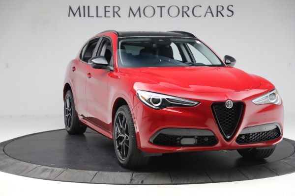 New 2020 Alfa Romeo Stelvio Sport Q4 for sale $50,190 at Alfa Romeo of Greenwich in Greenwich CT 06830 11