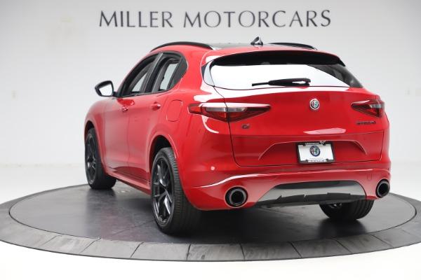 New 2020 Alfa Romeo Stelvio Sport Q4 for sale $50,190 at Alfa Romeo of Greenwich in Greenwich CT 06830 5