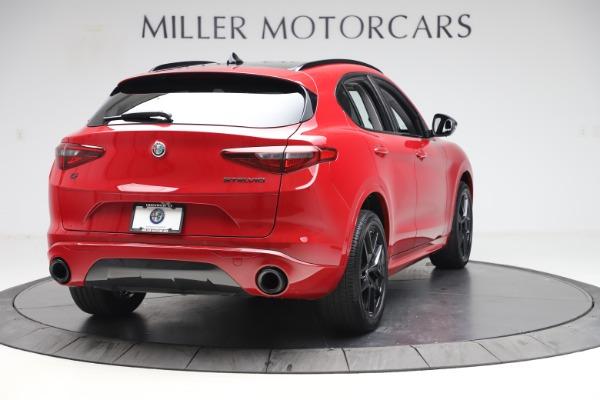 New 2020 Alfa Romeo Stelvio Sport Q4 for sale $50,190 at Alfa Romeo of Greenwich in Greenwich CT 06830 7