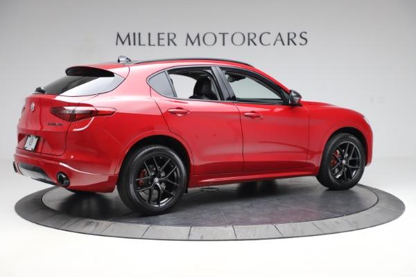 New 2020 Alfa Romeo Stelvio Sport Q4 for sale $50,190 at Alfa Romeo of Greenwich in Greenwich CT 06830 8