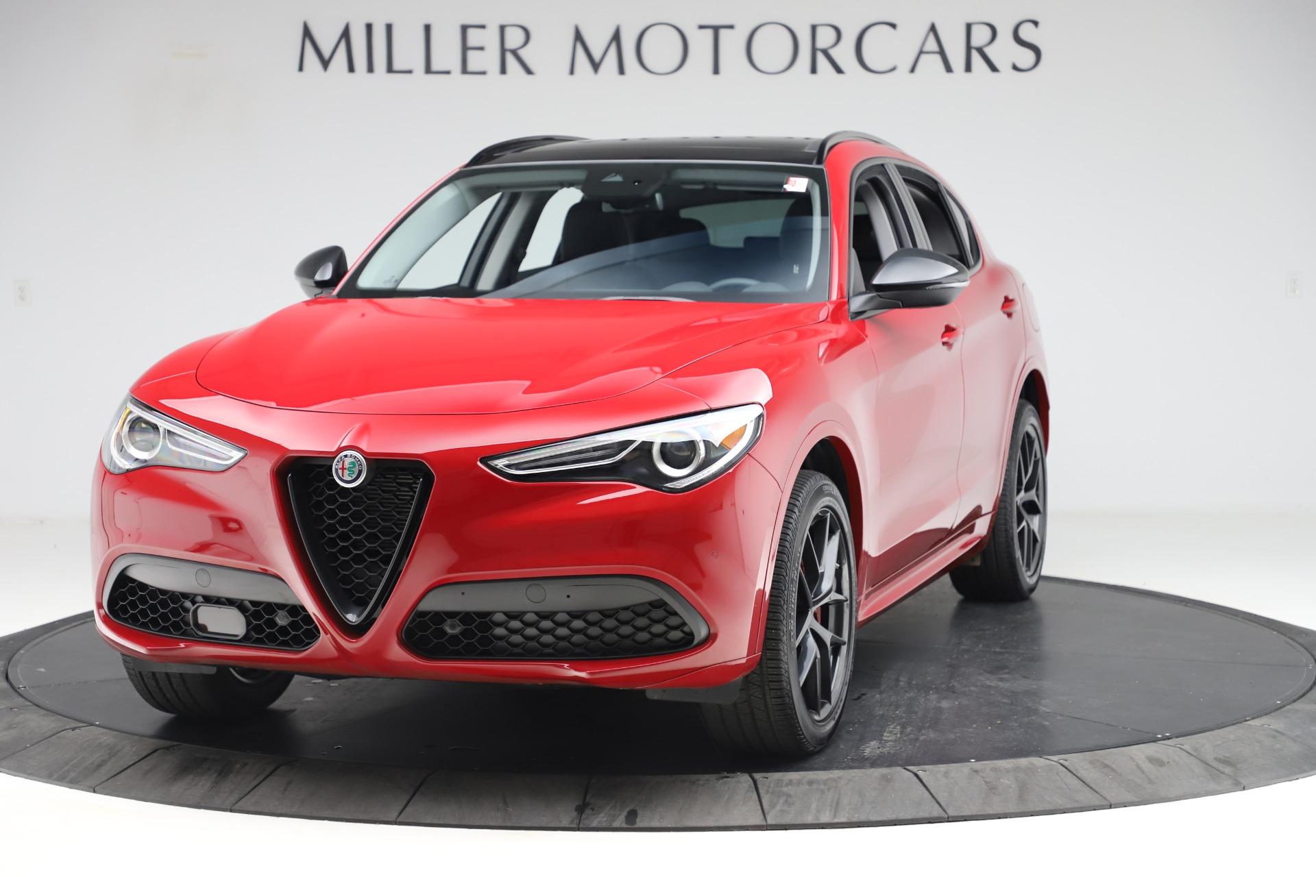 New 2020 Alfa Romeo Stelvio Sport Q4 for sale $50,190 at Alfa Romeo of Greenwich in Greenwich CT 06830 1