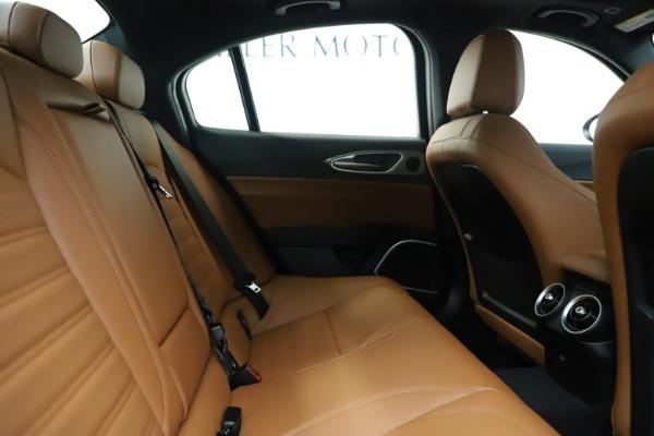 New 2020 Alfa Romeo Giulia Ti Sport Q4 for sale Sold at Alfa Romeo of Greenwich in Greenwich CT 06830 27