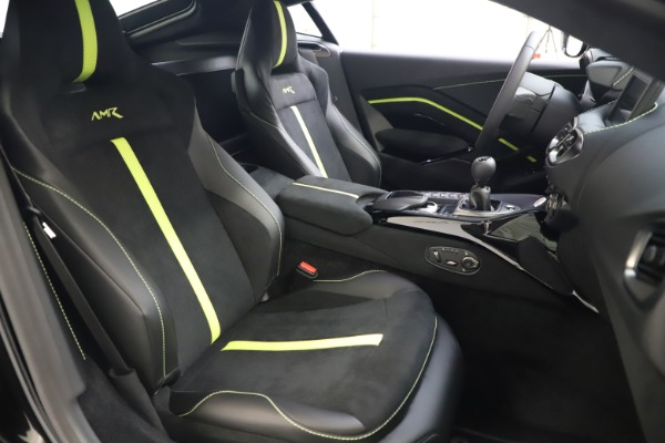 New 2020 Aston Martin Vantage AMR Coupe for sale $191,931 at Alfa Romeo of Greenwich in Greenwich CT 06830 19