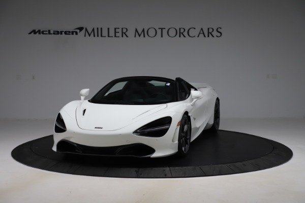 Used 2020 McLaren 720S Spider Convertible for sale Call for price at Alfa Romeo of Greenwich in Greenwich CT 06830 2