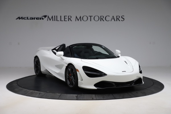 Used 2020 McLaren 720S Spider Convertible for sale Call for price at Alfa Romeo of Greenwich in Greenwich CT 06830 4
