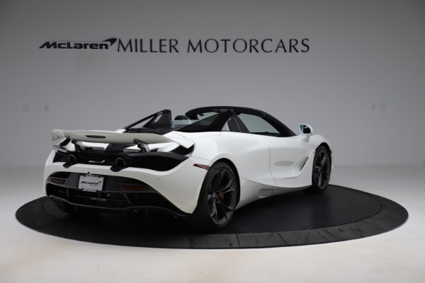 Used 2020 McLaren 720S Spider Convertible for sale Call for price at Alfa Romeo of Greenwich in Greenwich CT 06830 8