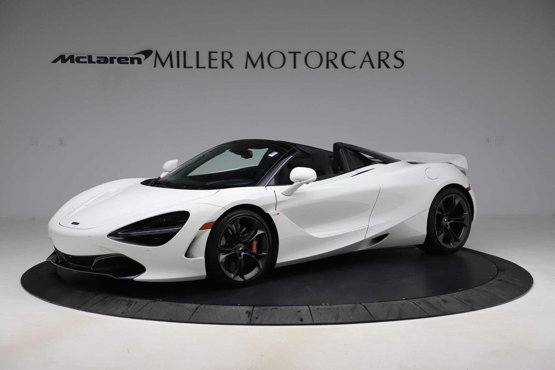 Used 2020 McLaren 720S Spider Convertible for sale Call for price at Alfa Romeo of Greenwich in Greenwich CT 06830 1