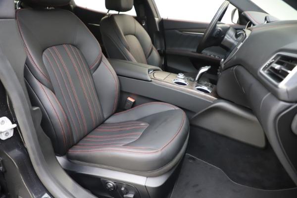 New 2019 Maserati Ghibli S Q4 GranLusso for sale $98,395 at Alfa Romeo of Greenwich in Greenwich CT 06830 24