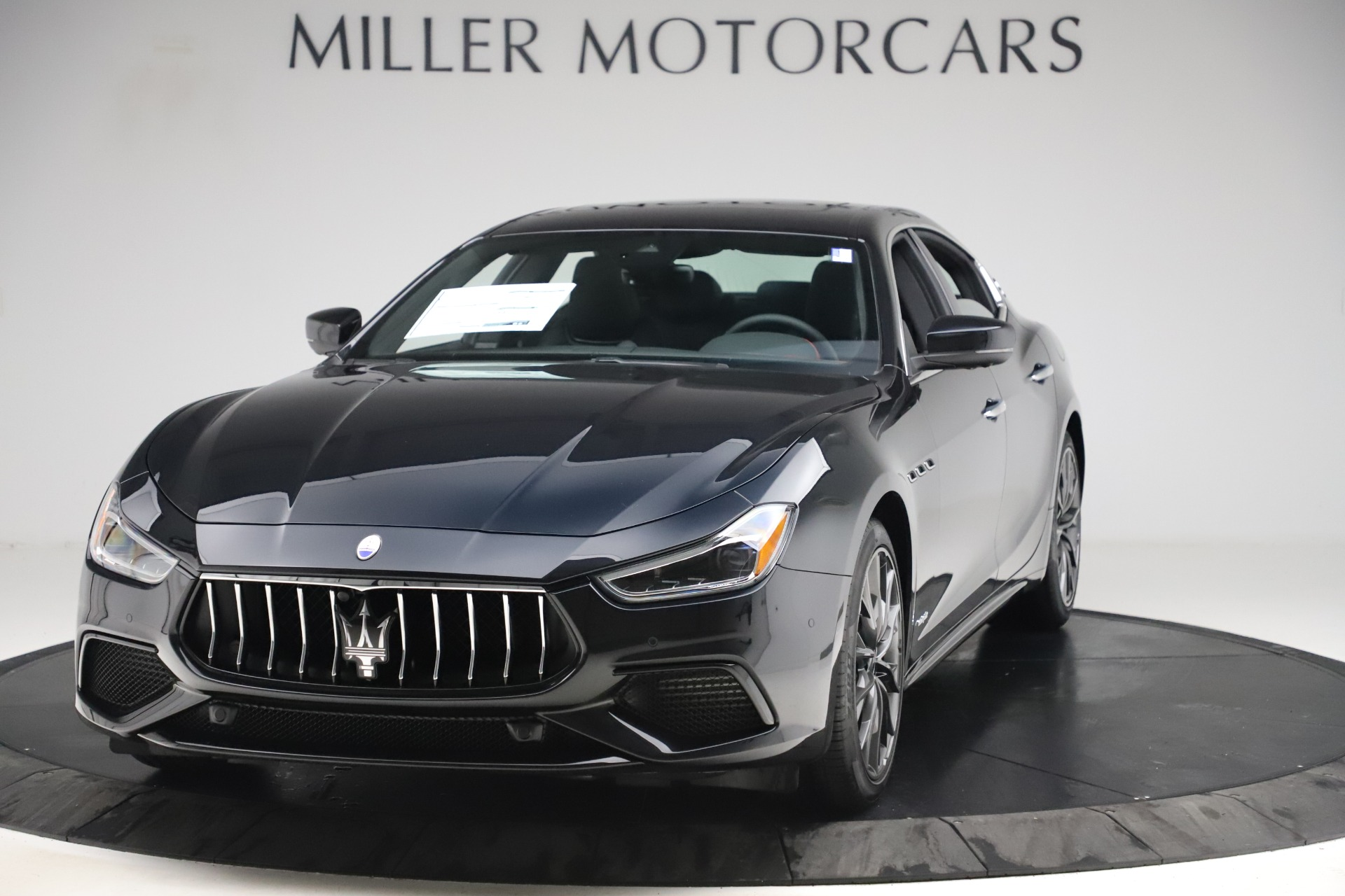 New 2019 Maserati Ghibli S Q4 GranSport for sale $99,905 at Alfa Romeo of Greenwich in Greenwich CT 06830 1