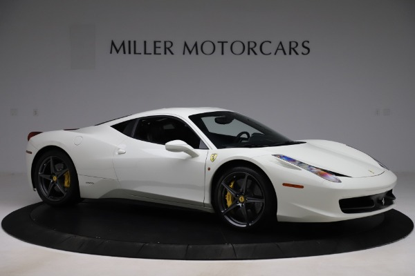 Used 2013 Ferrari 458 Italia for sale $186,900 at Alfa Romeo of Greenwich in Greenwich CT 06830 10