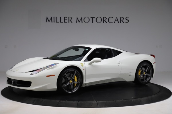 Used 2013 Ferrari 458 Italia for sale $186,900 at Alfa Romeo of Greenwich in Greenwich CT 06830 2