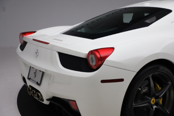Used 2013 Ferrari 458 Italia for sale $186,900 at Alfa Romeo of Greenwich in Greenwich CT 06830 26