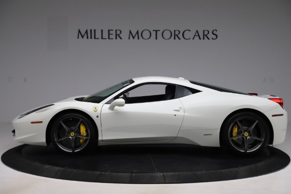 Used 2013 Ferrari 458 Italia for sale $186,900 at Alfa Romeo of Greenwich in Greenwich CT 06830 3