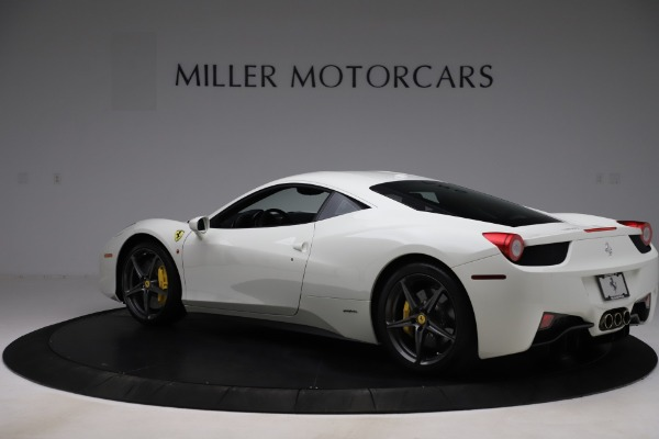 Used 2013 Ferrari 458 Italia for sale $186,900 at Alfa Romeo of Greenwich in Greenwich CT 06830 4