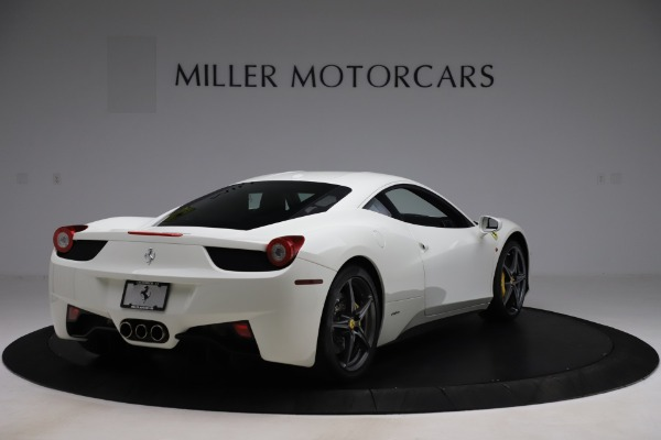 Used 2013 Ferrari 458 Italia for sale $186,900 at Alfa Romeo of Greenwich in Greenwich CT 06830 7