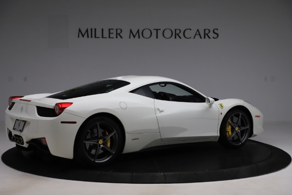 Used 2013 Ferrari 458 Italia for sale $186,900 at Alfa Romeo of Greenwich in Greenwich CT 06830 8