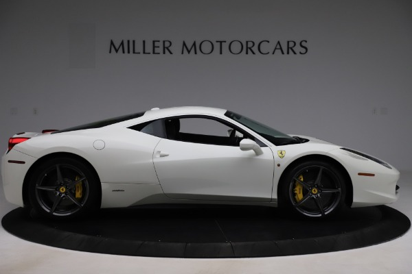 Used 2013 Ferrari 458 Italia for sale $186,900 at Alfa Romeo of Greenwich in Greenwich CT 06830 9
