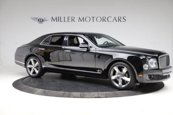 New 2016 Bentley Mulsanne Speed for sale $157,900 at Alfa Romeo of Greenwich in Greenwich CT 06830 9
