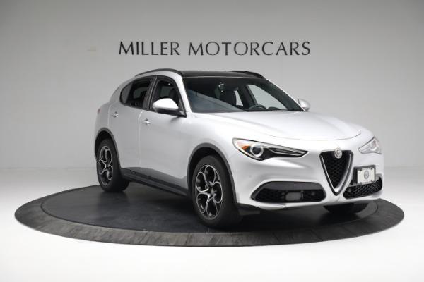 New 2019 Alfa Romeo Stelvio Ti Sport Q4 for sale $52,640 at Alfa Romeo of Greenwich in Greenwich CT 06830 11