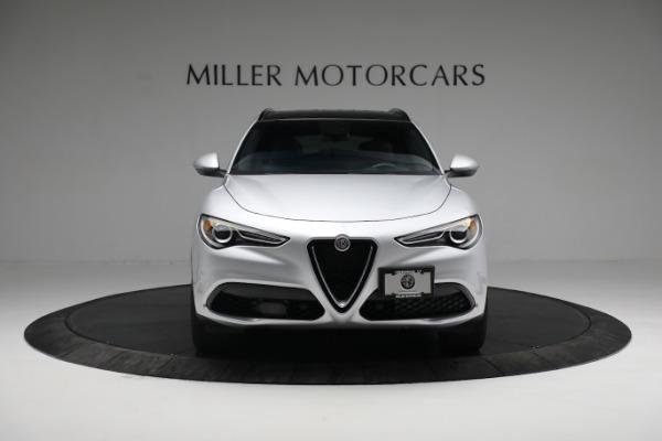 New 2019 Alfa Romeo Stelvio Ti Sport Q4 for sale $52,640 at Alfa Romeo of Greenwich in Greenwich CT 06830 12