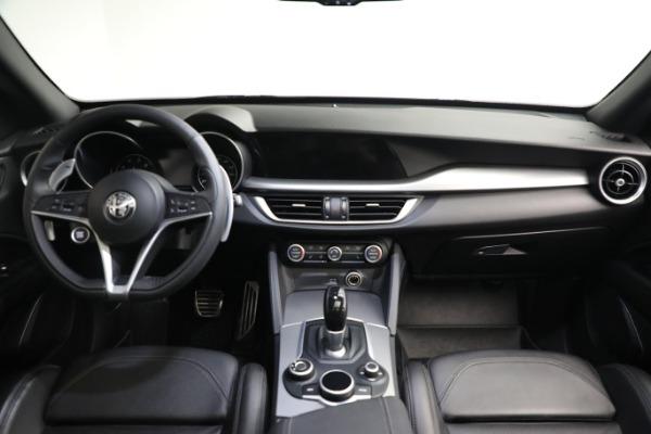 New 2019 Alfa Romeo Stelvio Ti Sport Q4 for sale $52,640 at Alfa Romeo of Greenwich in Greenwich CT 06830 16