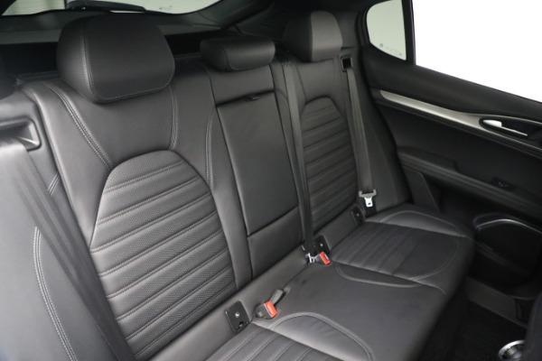 New 2019 Alfa Romeo Stelvio Ti Sport Q4 for sale $52,640 at Alfa Romeo of Greenwich in Greenwich CT 06830 22
