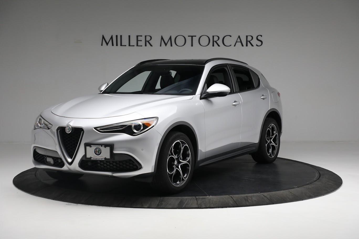 New 2019 Alfa Romeo Stelvio Ti Sport Q4 for sale $52,640 at Alfa Romeo of Greenwich in Greenwich CT 06830 1
