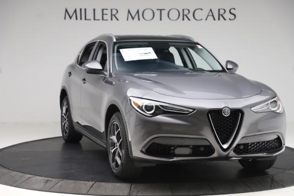 New 2019 Alfa Romeo Stelvio Ti Q4 for sale $51,090 at Alfa Romeo of Greenwich in Greenwich CT 06830 11
