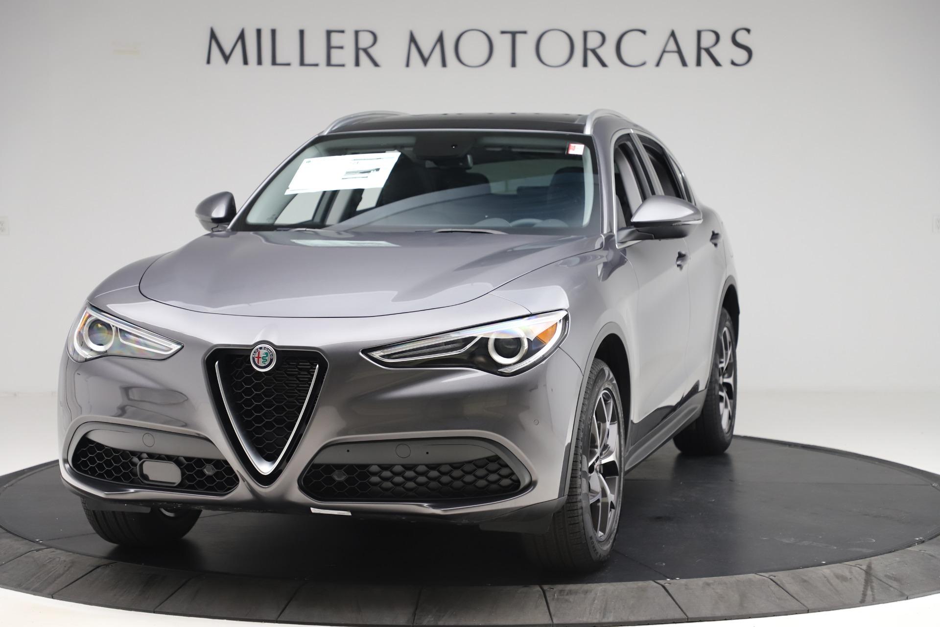 New 2019 Alfa Romeo Stelvio Ti Q4 for sale $51,090 at Alfa Romeo of Greenwich in Greenwich CT 06830 1