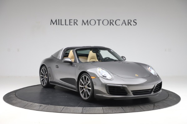 Used 2017 Porsche 911 Targa 4S for sale Sold at Alfa Romeo of Greenwich in Greenwich CT 06830 11