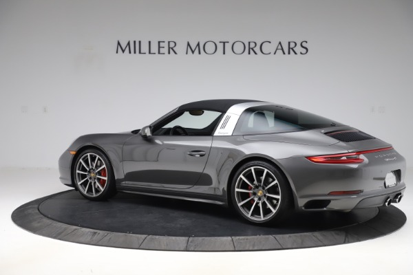 Used 2017 Porsche 911 Targa 4S for sale Sold at Alfa Romeo of Greenwich in Greenwich CT 06830 14