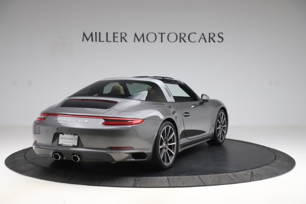 Used 2017 Porsche 911 Targa 4S for sale Sold at Alfa Romeo of Greenwich in Greenwich CT 06830 7