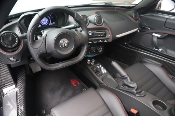 New 2020 Alfa Romeo 4C Spider for sale $78,795 at Alfa Romeo of Greenwich in Greenwich CT 06830 19