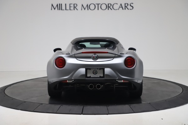New 2020 Alfa Romeo 4C Spider for sale $78,795 at Alfa Romeo of Greenwich in Greenwich CT 06830 6