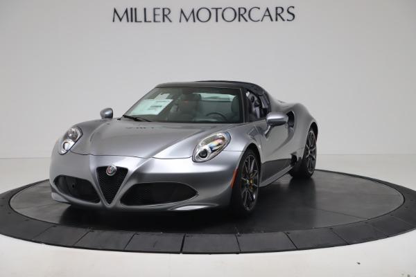 New 2020 Alfa Romeo 4C Spider for sale $78,795 at Alfa Romeo of Greenwich in Greenwich CT 06830 1