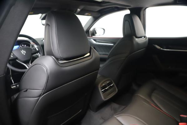 New 2020 Maserati Ghibli S Q4 GranSport for sale $95,785 at Alfa Romeo of Greenwich in Greenwich CT 06830 19