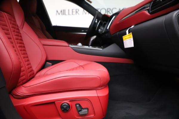 New 2020 Maserati Levante S Q4 GranSport for sale $103,585 at Alfa Romeo of Greenwich in Greenwich CT 06830 23