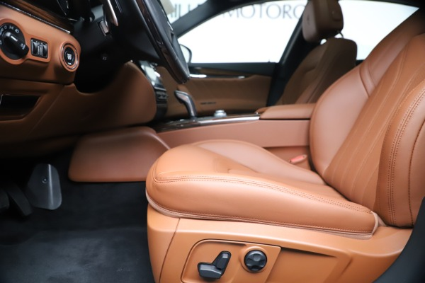 New 2020 Maserati Quattroporte S Q4 GranLusso for sale $117,935 at Alfa Romeo of Greenwich in Greenwich CT 06830 14
