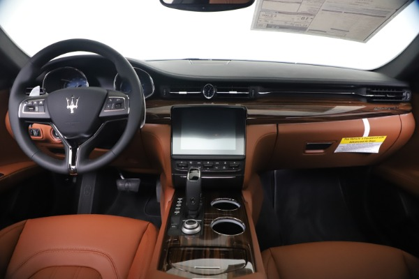 New 2020 Maserati Quattroporte S Q4 GranLusso for sale $117,935 at Alfa Romeo of Greenwich in Greenwich CT 06830 16