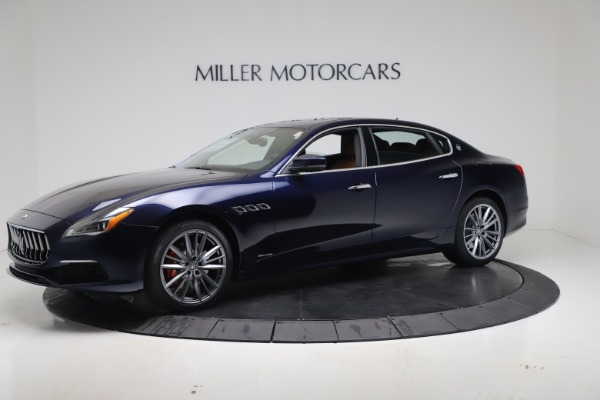 New 2020 Maserati Quattroporte S Q4 GranLusso for sale $117,935 at Alfa Romeo of Greenwich in Greenwich CT 06830 2
