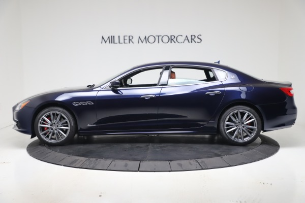 New 2020 Maserati Quattroporte S Q4 GranLusso for sale $117,935 at Alfa Romeo of Greenwich in Greenwich CT 06830 3