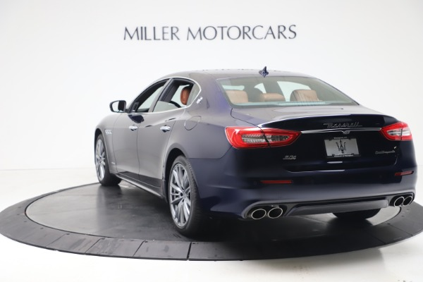 New 2020 Maserati Quattroporte S Q4 GranLusso for sale $117,935 at Alfa Romeo of Greenwich in Greenwich CT 06830 5