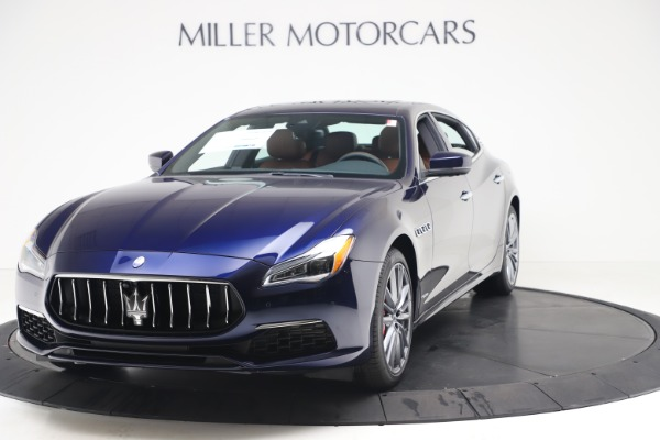 New 2020 Maserati Quattroporte S Q4 GranLusso for sale $117,935 at Alfa Romeo of Greenwich in Greenwich CT 06830 1