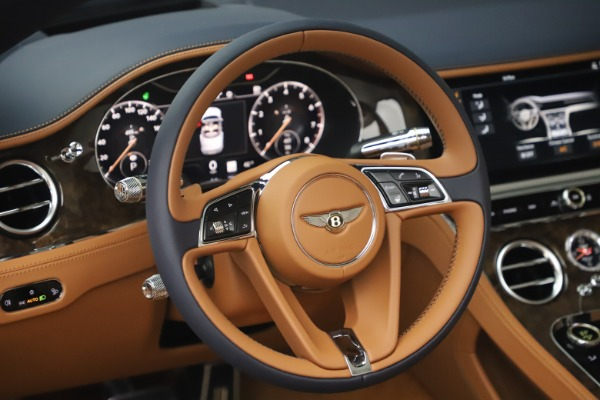 New 2020 Bentley Continental GTC W12 for sale $292,575 at Alfa Romeo of Greenwich in Greenwich CT 06830 27