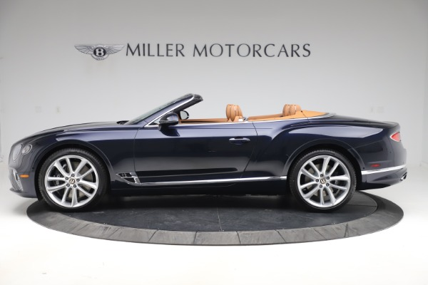 New 2020 Bentley Continental GTC W12 for sale $292,575 at Alfa Romeo of Greenwich in Greenwich CT 06830 3