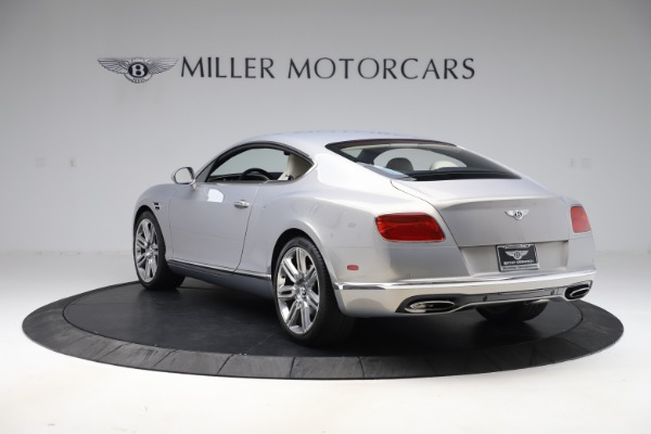 New 2016 Bentley Continental GT W12 for sale $128,900 at Alfa Romeo of Greenwich in Greenwich CT 06830 5
