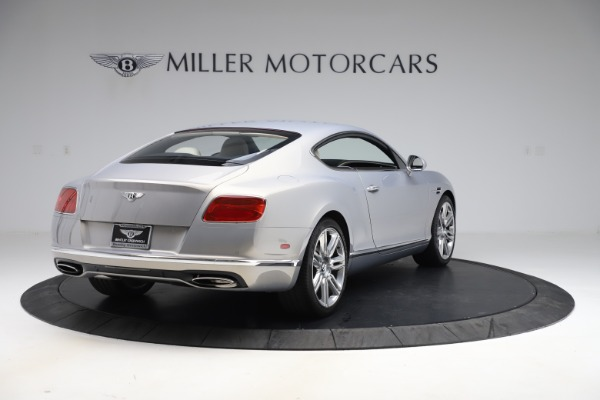 New 2016 Bentley Continental GT W12 for sale $128,900 at Alfa Romeo of Greenwich in Greenwich CT 06830 7
