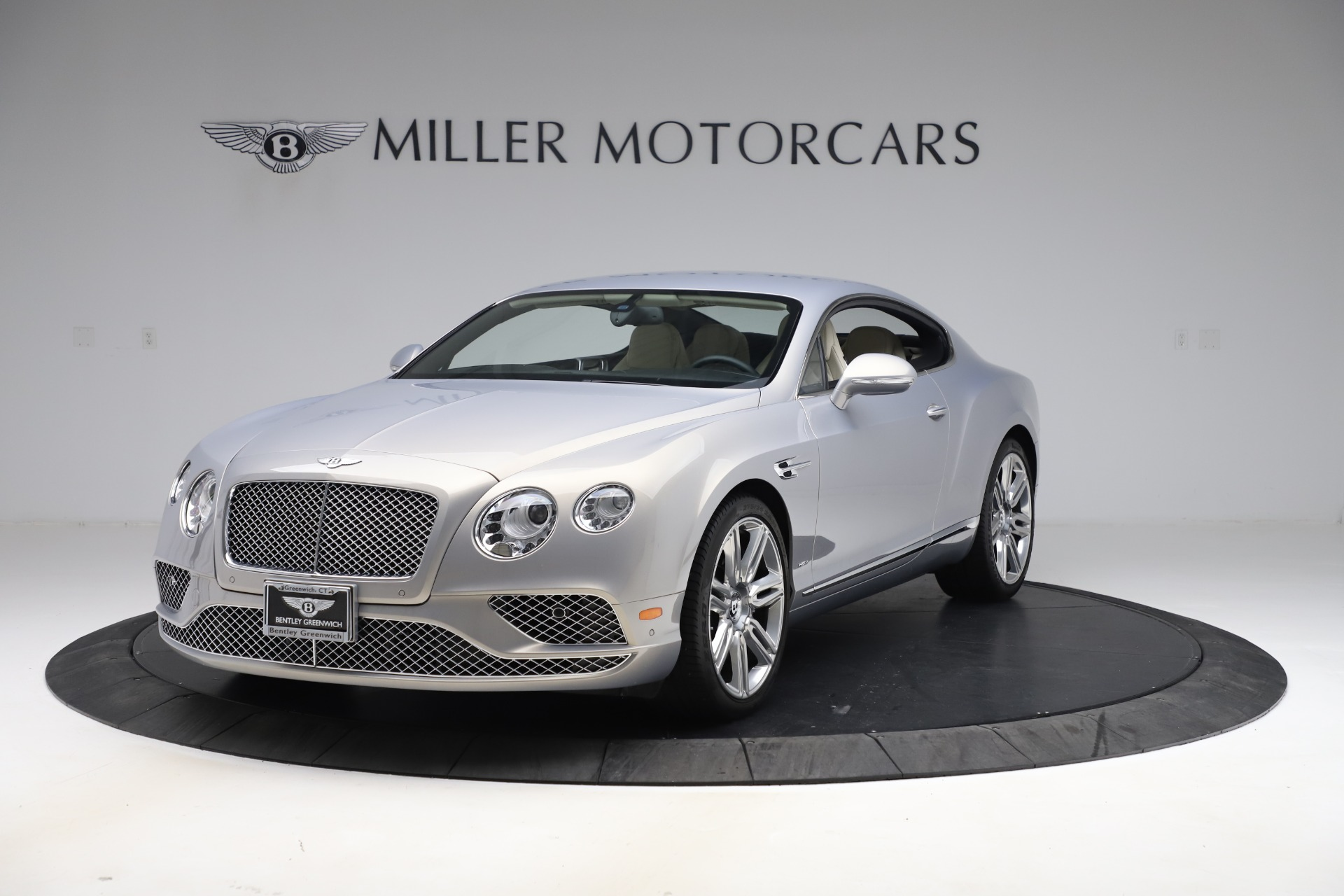 New 2016 Bentley Continental GT W12 for sale $128,900 at Alfa Romeo of Greenwich in Greenwich CT 06830 1