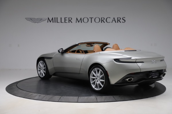 Used 2020 Aston Martin DB11 Volante Convertible for sale $239,900 at Alfa Romeo of Greenwich in Greenwich CT 06830 6